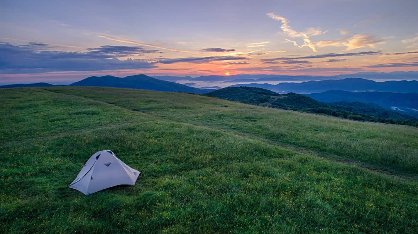 Max Patch - Aerial Photography