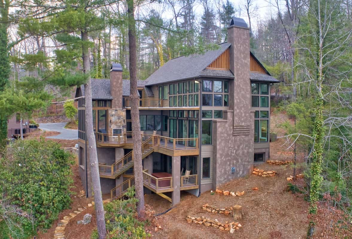 Private Residence - Aerial Photography