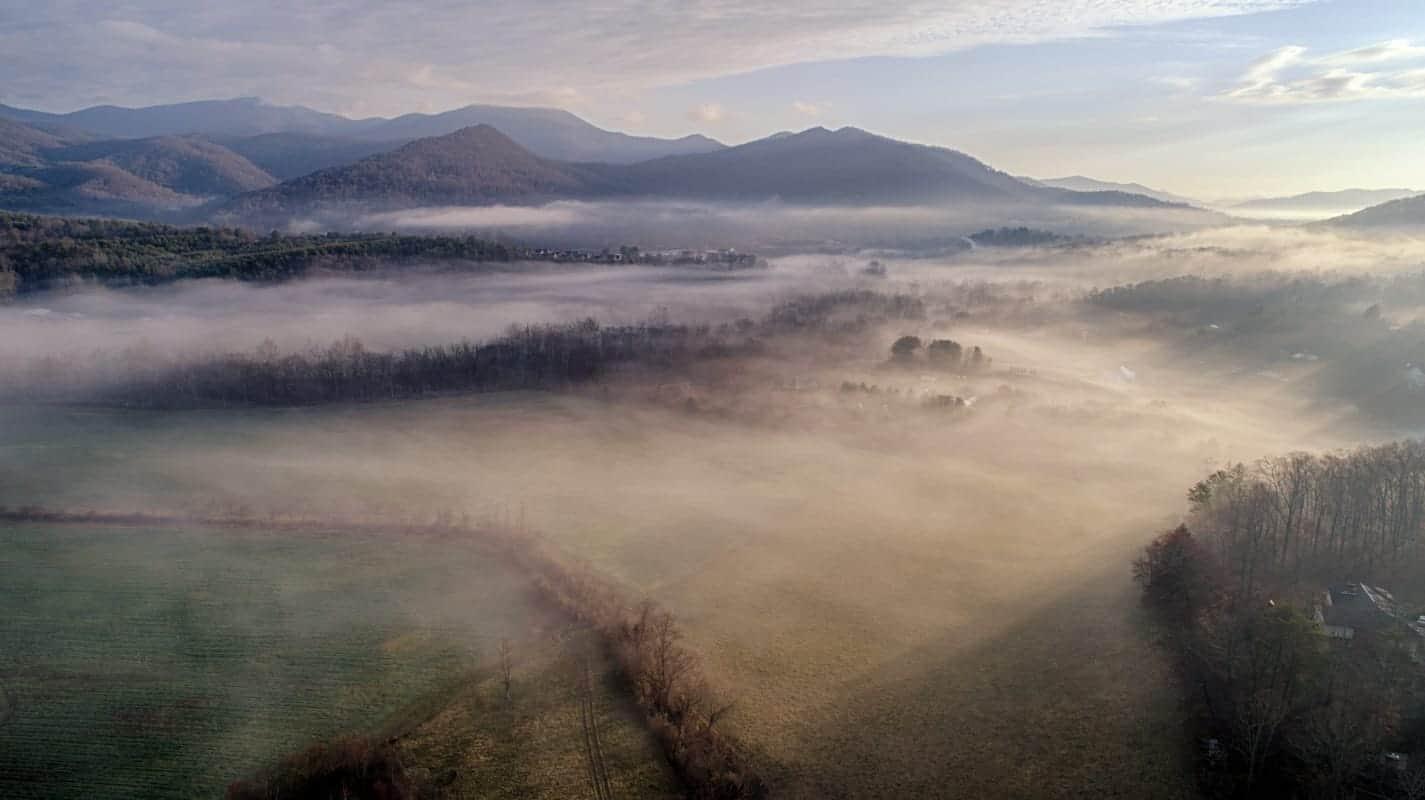 Warren Wilson College - Aerial Photography